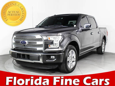 Used FORD F-150 2015 WEST PALM Platinum