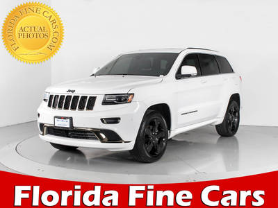 Used JEEP GRAND-CHEROKEE 2015 WEST PALM OVERLAND