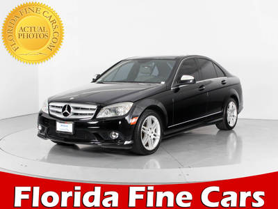 Used MERCEDES-BENZ C-CLASS 2008 WEST PALM C350