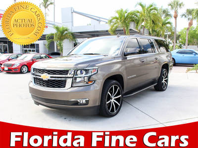 Used CHEVROLET SUBURBAN 2016 WEST PALM LS