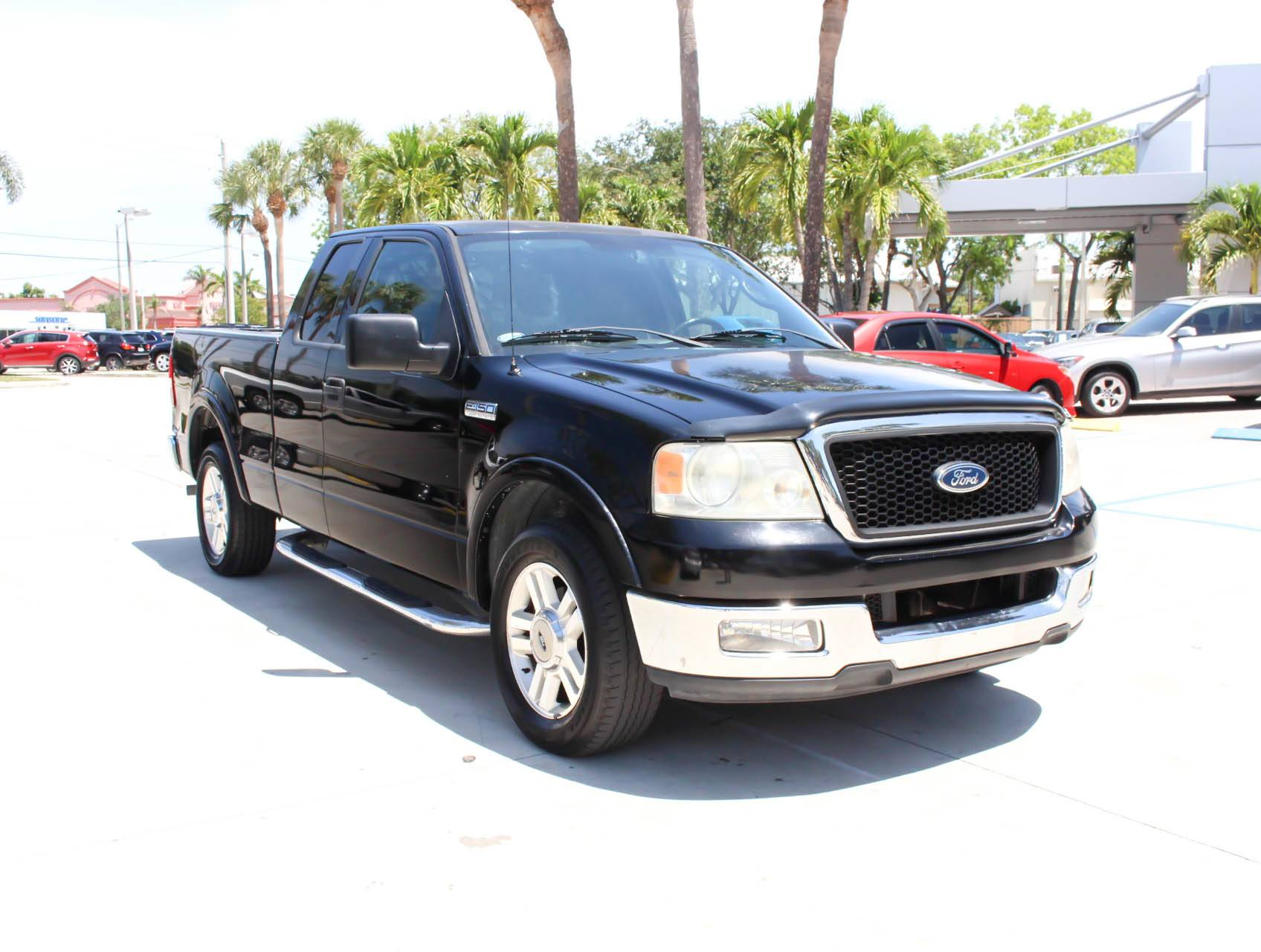 Used 2004 ford f 150 lariat truck for sale in wholesale fl 94123 florida fine cars