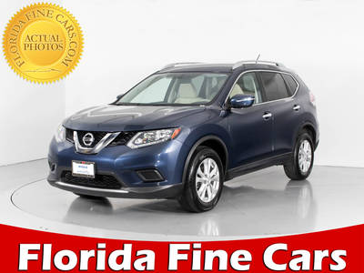 Used NISSAN ROGUE 2015 WEST PALM Sv