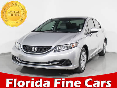 Used HONDA CIVIC 2015 WEST PALM LX