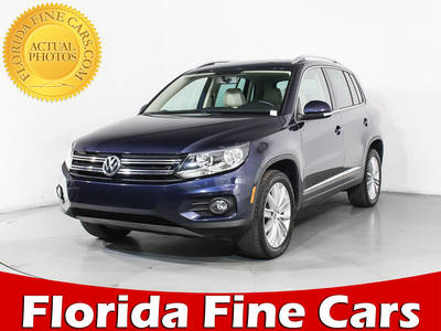 Used VOLKSWAGEN TIGUAN 2015 HOLLYWOOD Se