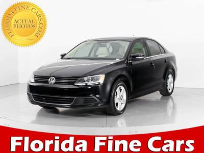 Used VOLKSWAGEN JETTA 2013 WEST PALM TDI
