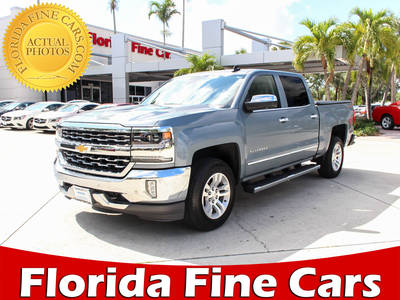 Used CHEVROLET SILVERADO 2016 WEST PALM Ltz 1lz 4x4 Crew Cab