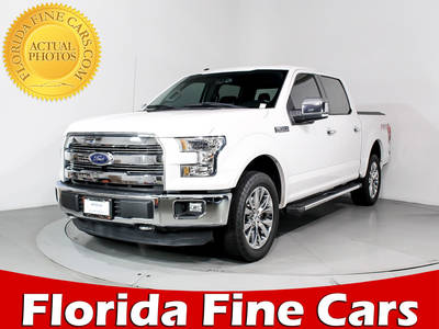 Used FORD F-150 2016 MIAMI Lariat Fx4