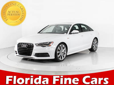 Used AUDI A6 2015 WEST PALM Premium Plus Quattro
