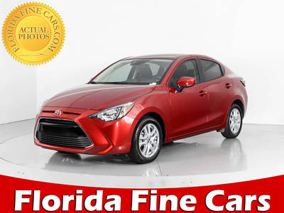 Used TOYOTA YARIS-IA 2018 WEST PALM