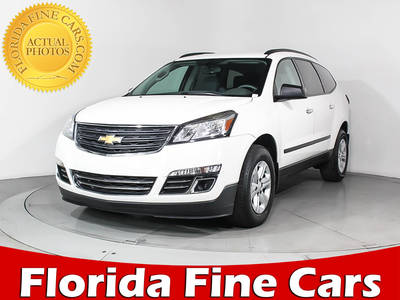 Used CHEVROLET TRAVERSE 2014 MIAMI LS