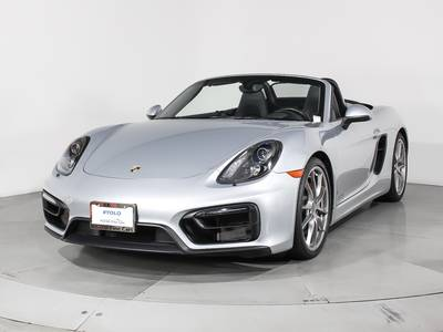 Used PORSCHE BOXSTER 2015 WEST PALM Gts