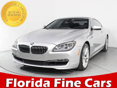 Used BMW 6-SERIES 2012 MIAMI 640I
