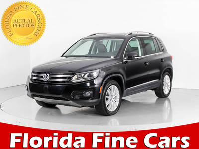 Used VOLKSWAGEN TIGUAN 2016 WEST PALM Se