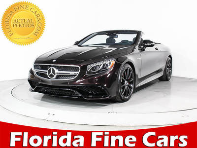 Used MERCEDES-BENZ S-CLASS 2017 MIAMI S63 AMG 4MATIC