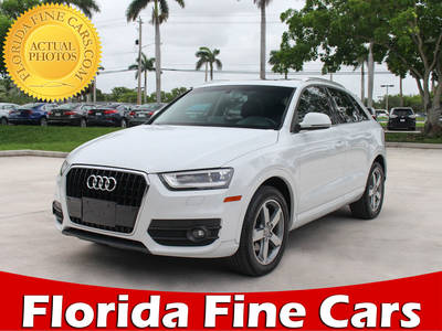 Used AUDI Q3 2015 MARGATE Premium Plus