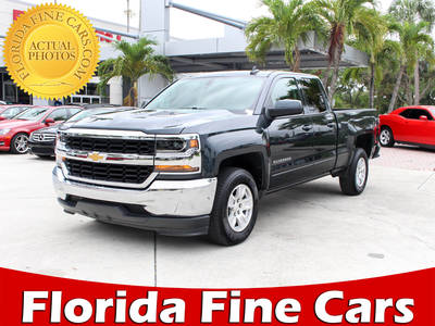 Used CHEVROLET SILVERADO 2018 WEST PALM LT