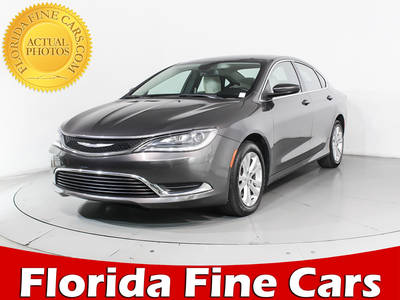 Used CHRYSLER 200 2015 HOLLYWOOD LIMITED