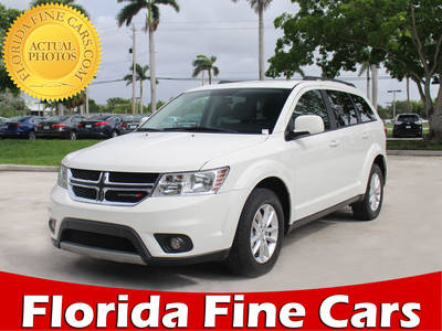 Used DODGE JOURNEY 2017 MARGATE SXT