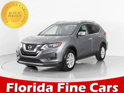 Used NISSAN ROGUE 2017 WEST PALM Sv