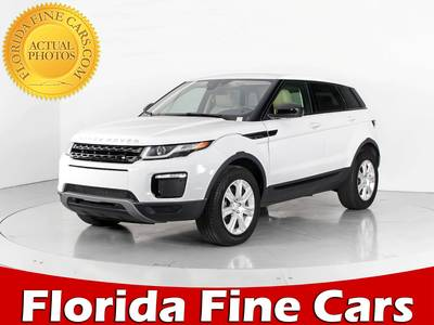 Used LAND-ROVER RANGE-ROVER-EVOQUE 2017 WEST PALM SE