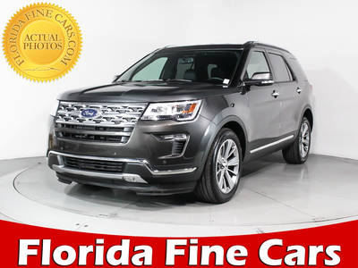 Used FORD EXPLORER 2018 MIAMI LIMITED