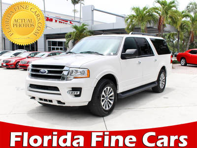 Used FORD EXPEDITION-EL 2016 WEST PALM Xlt Awd