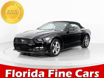 Used FORD MUSTANG 2017 WEST PALM