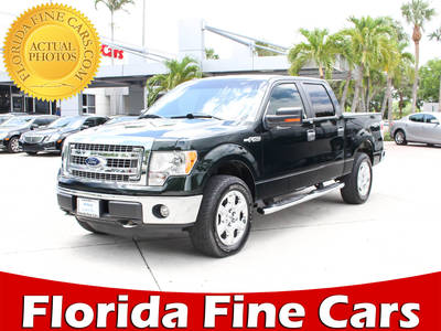 Used FORD F-150 2013 WEST PALM Xlt