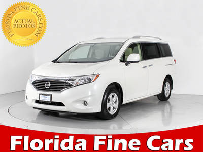 Used NISSAN QUEST 2016 WEST PALM Sv