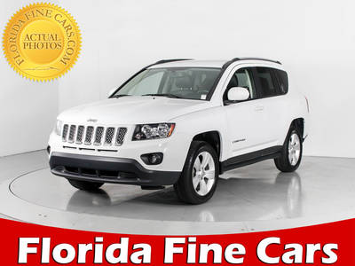 Used JEEP COMPASS 2016 WEST PALM LATITUDE