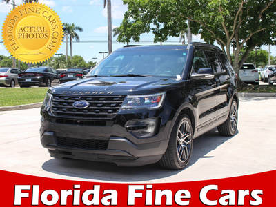 Used FORD EXPLORER 2016 MARGATE Sport Awd