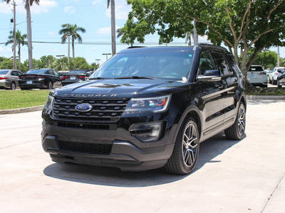 Used FORD EXPLORER 2016 HOLLYWOOD Sport Awd
