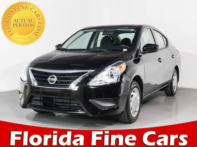 Used NISSAN VERSA 2017 MIAMI S Plus
