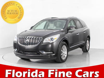 Used BUICK ENCLAVE 2015 WEST PALM Leather Group