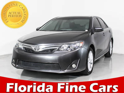 Used TOYOTA CAMRY 2013 MIAMI Xle