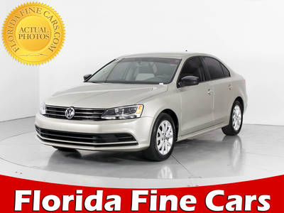 Used VOLKSWAGEN JETTA 2015 WEST PALM SE