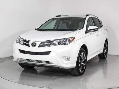 Used TOYOTA RAV4 2015 WEST PALM LIMITED