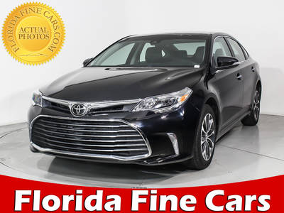 Used TOYOTA AVALON 2017 WEST PALM Xle