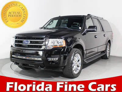 Used FORD EXPEDITION-EL 2017 MIAMI Limited Awd