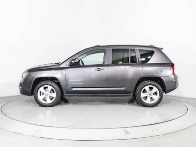 Used JEEP COMPASS 2017 WEST PALM Latitude 4x4