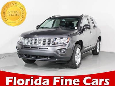 Used JEEP COMPASS 2017 HOLLYWOOD Latitude 4x4