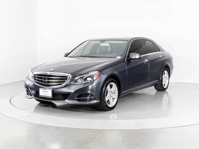 Used MERCEDES-BENZ E-CLASS 2014 WEST PALM E350 4MATIC