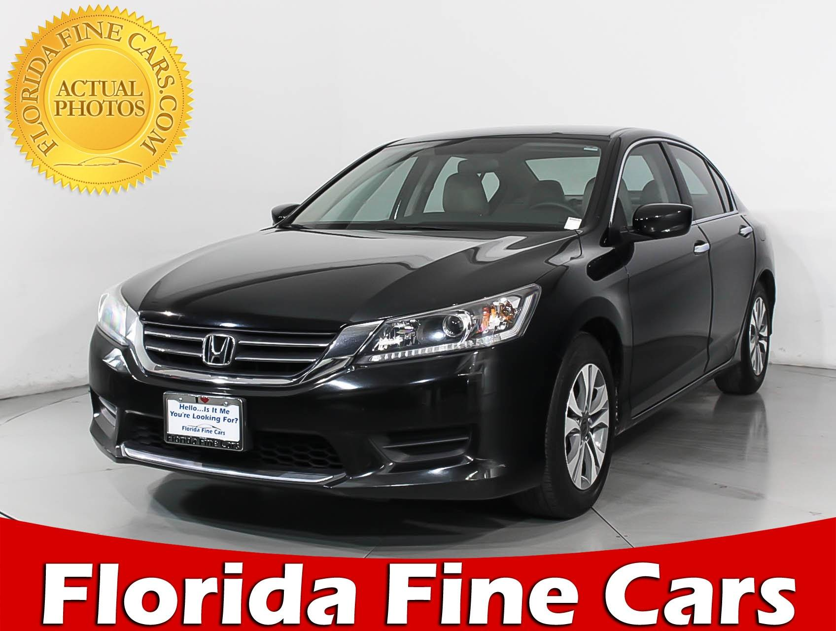 Used 2015 HONDA ACCORD LX Sedan For Sale In HOLLYWOOD, FL | 94694 | Florida  Fine Cars