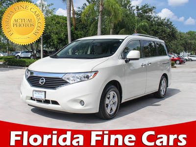 Used NISSAN QUEST 2017 MARGATE Sv