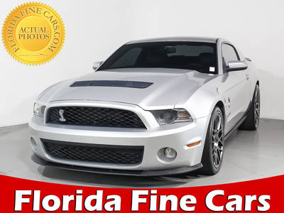 Used FORD MUSTANG-SHELBY-GT500 2012 MIAMI