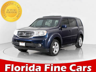 Used HONDA PILOT 2012 WEST PALM EXL