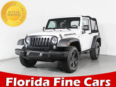 Used JEEP WRANGLER 2016 HOLLYWOOD SPORT