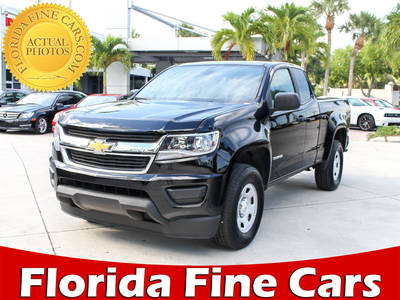 Used CHEVROLET COLORADO 2017 WEST PALM WORK TRUCK