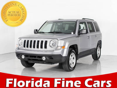 Used JEEP PATRIOT 2017 WEST PALM Sport 4x4