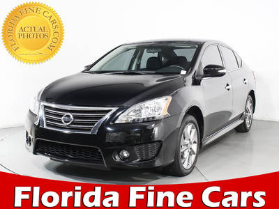 Used NISSAN SENTRA 2015 HOLLYWOOD Sr